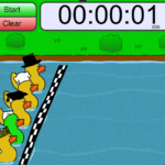 Таймер онлайн утки Duck Race Timer online