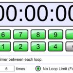 Таймер онлайн Петля Обратного Отсчета Loop Countdown