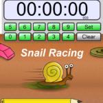 Таймер онлайн гоночные утки Snail Racing Timer online