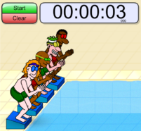 Swimming Timer online