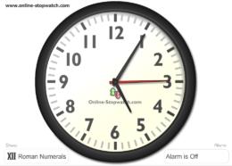 будильник онлайн