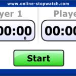 Шахматный Таймер онлайн