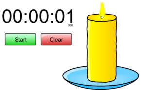 timer candle
