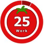 Таймер онлайн 25 ,помидорный таймер Pomodoro Timer